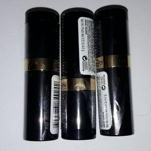 3 Revlon Super Lustrous Lipstick Metallic,054